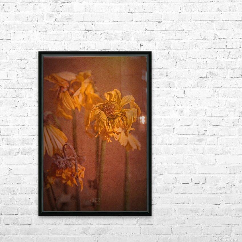 Etude Zen 7 p HD Sublimation Metal print with Decorating Float Frame (BOX)
