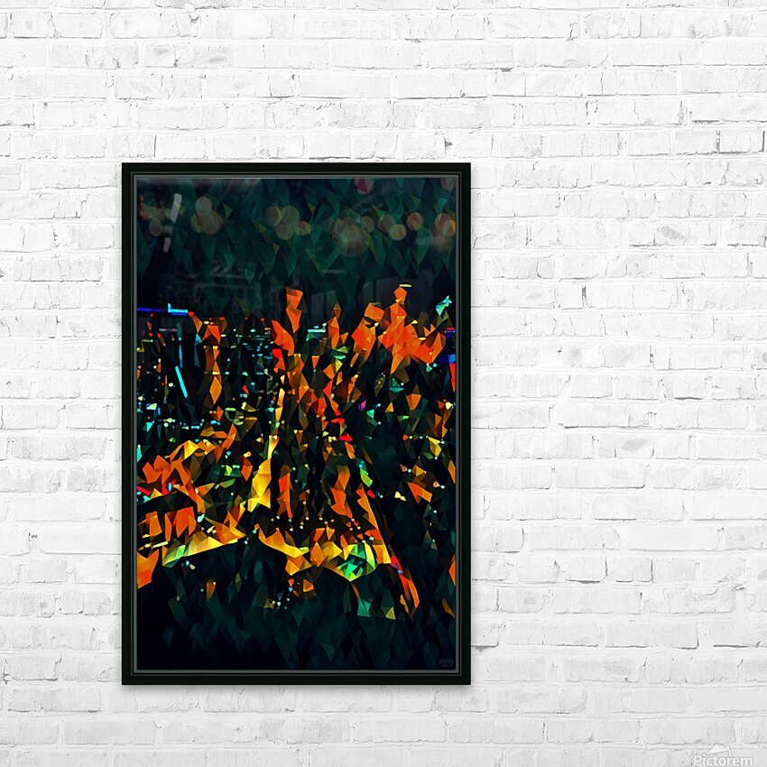 seattle at night HD Sublimation Metal print with Decorating Float Frame (BOX)