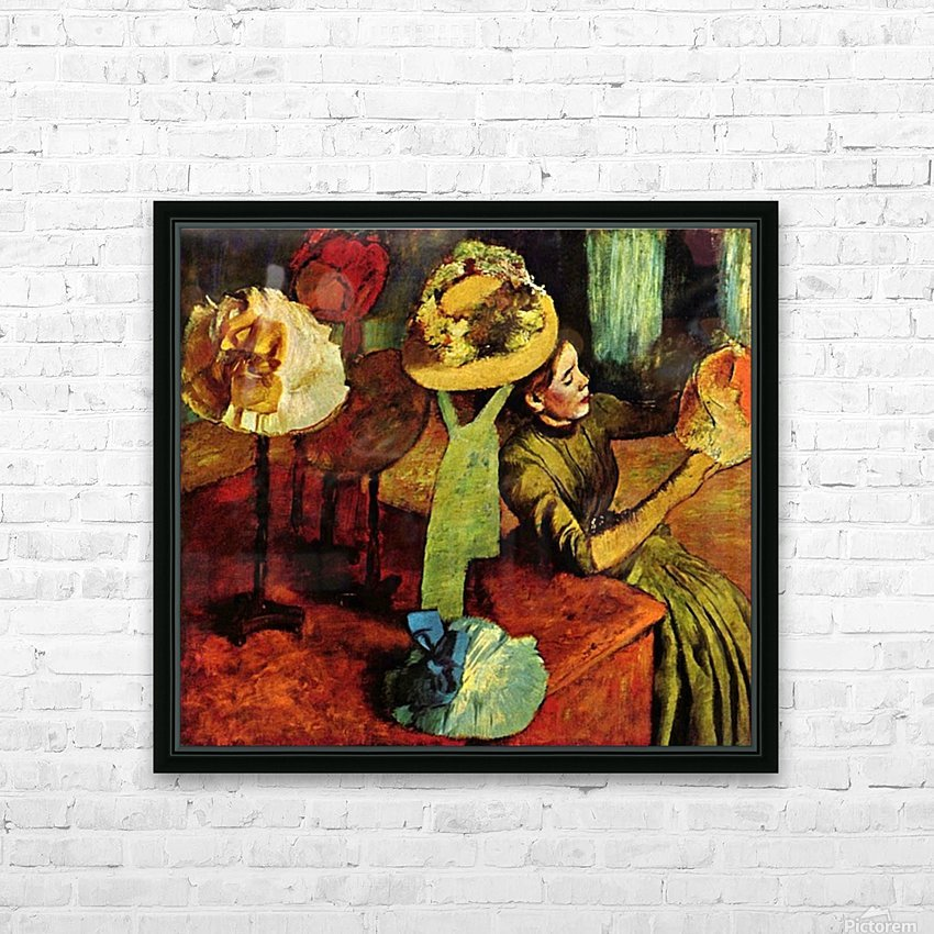 The fashion shop by Degas HD Sublimation Metal print with Decorating Float Frame (BOX)