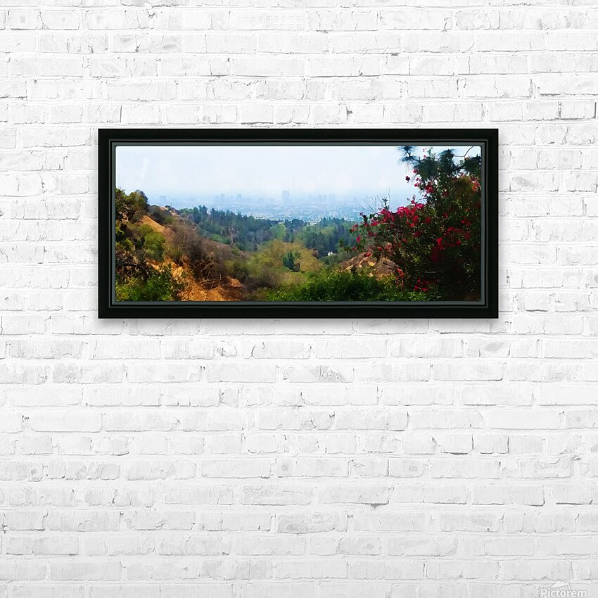 beauty of la HD Sublimation Metal print with Decorating Float Frame (BOX)