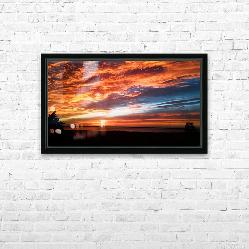 majestic sky HD Sublimation Metal print with Decorating Float Frame (BOX)