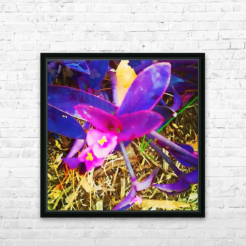 pink and purple HD Sublimation Metal print with Decorating Float Frame (BOX)