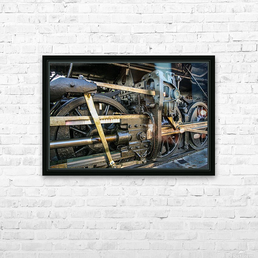 Strasburg 16 HD Sublimation Metal print with Decorating Float Frame (BOX)