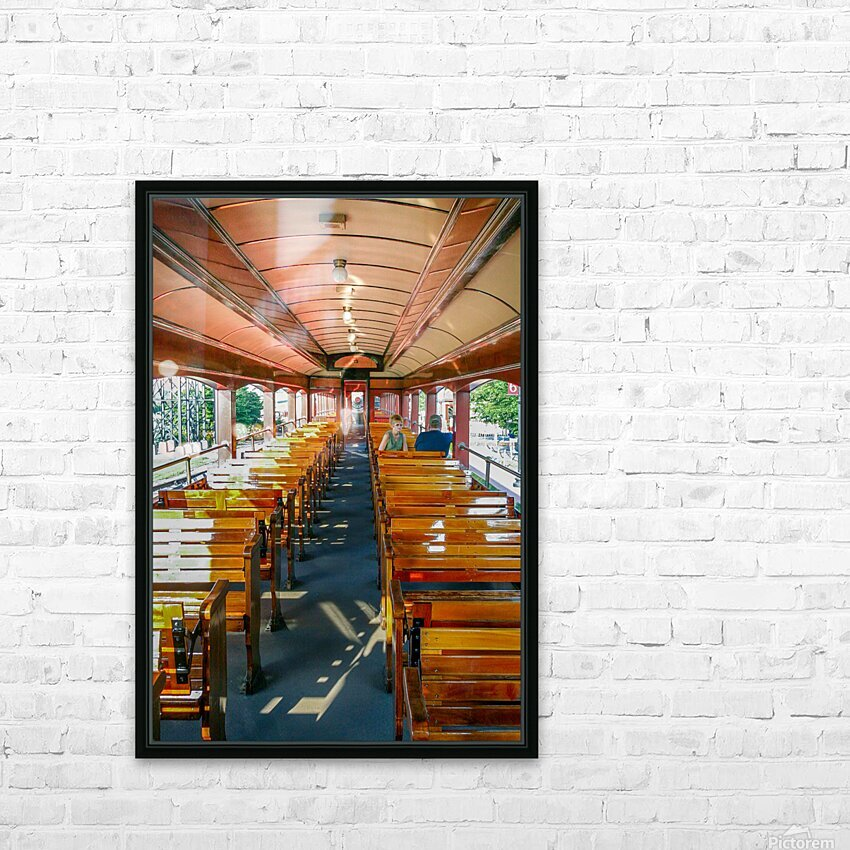 The Cheap Seats. HD Sublimation Metal print with Decorating Float Frame (BOX)