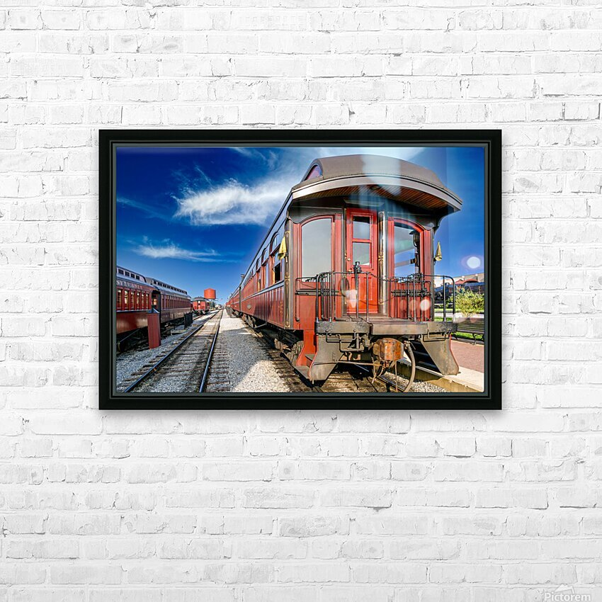 Strasburg 2 HD Sublimation Metal print with Decorating Float Frame (BOX)