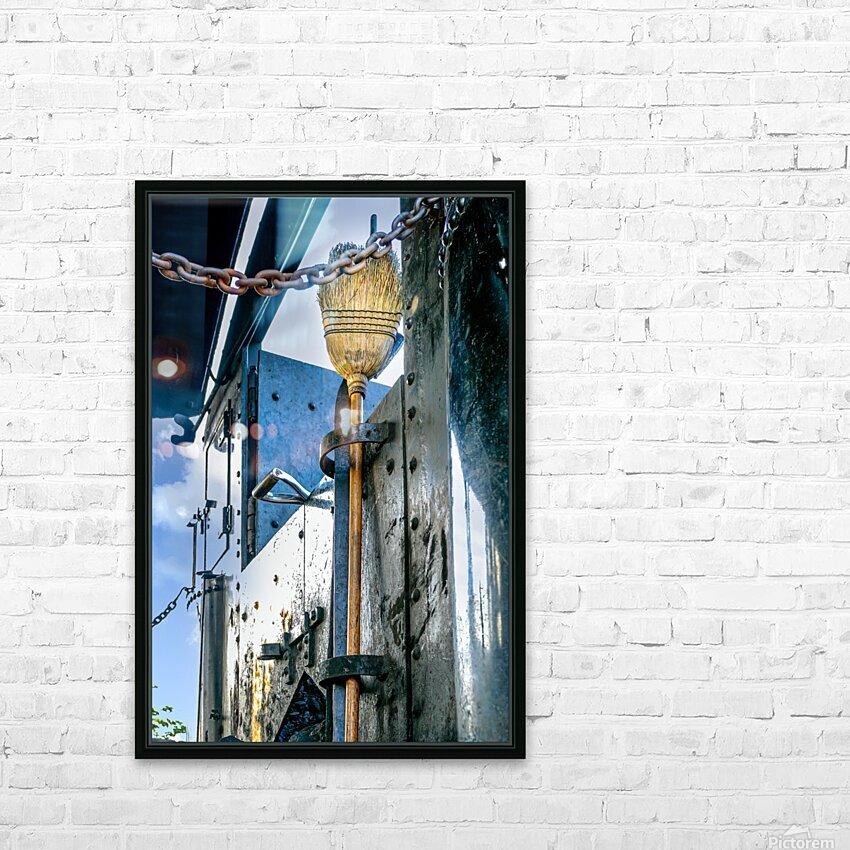 Strasburg 21 HD Sublimation Metal print with Decorating Float Frame (BOX)
