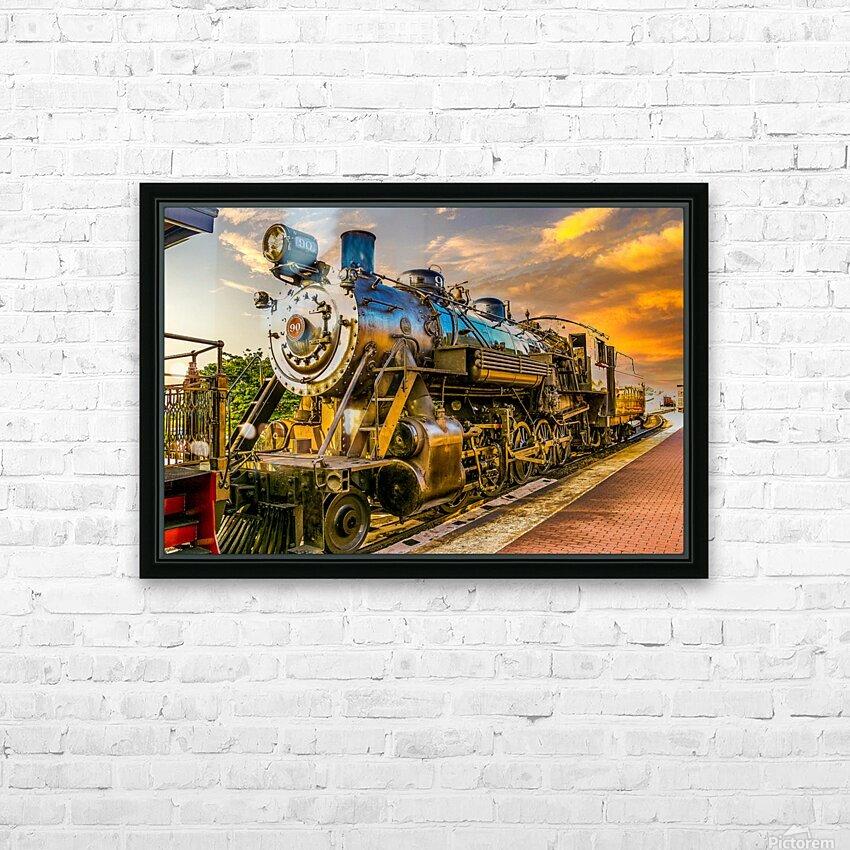 Strasburg 24 HD Sublimation Metal print with Decorating Float Frame (BOX)