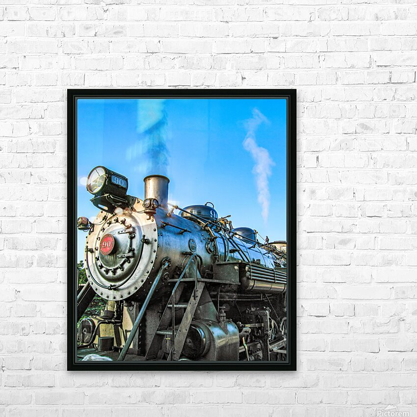 Strasburg 0171 HD Sublimation Metal print with Decorating Float Frame (BOX)