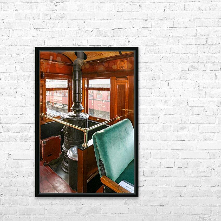 Strasburg 8 HD Sublimation Metal print with Decorating Float Frame (BOX)