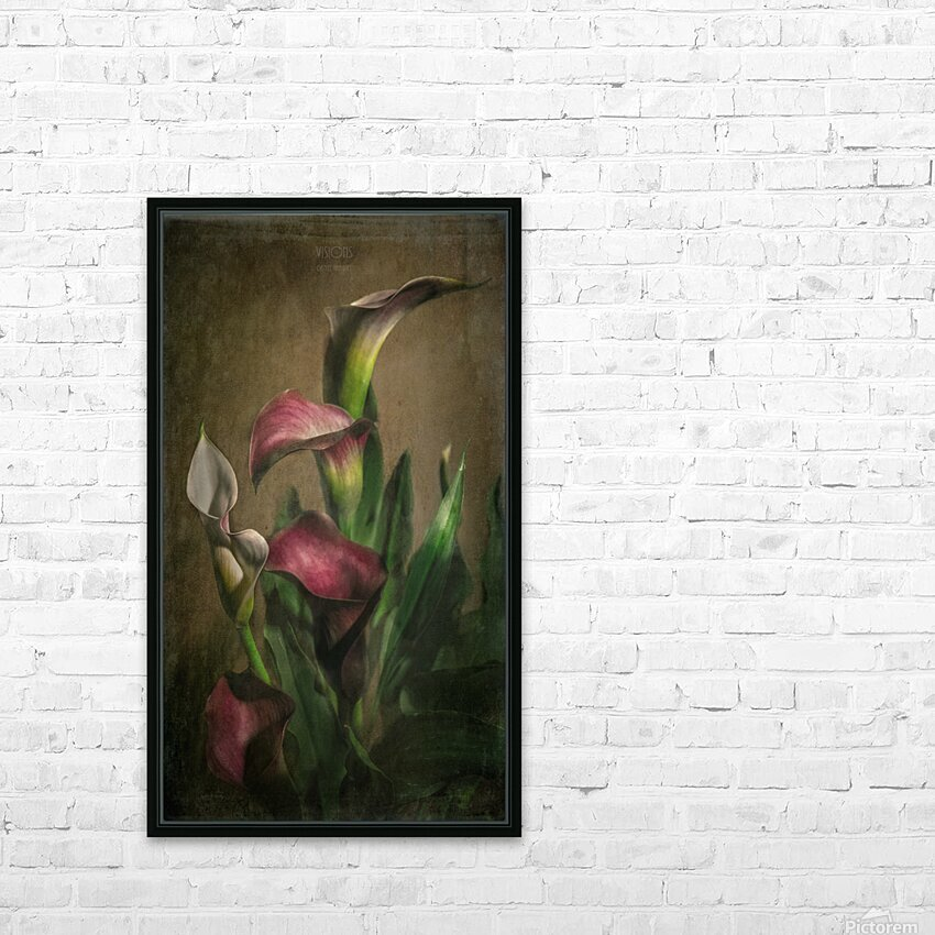 Etude Zen 8 a HD Sublimation Metal print with Decorating Float Frame (BOX)