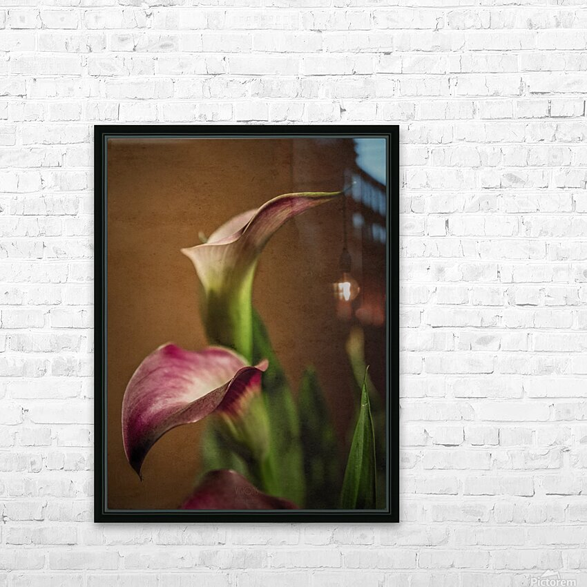 Etude Zen 8 b HD Sublimation Metal print with Decorating Float Frame (BOX)