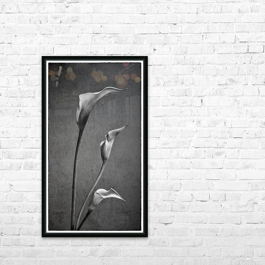Etude Zen 8 c HD Sublimation Metal print with Decorating Float Frame (BOX)