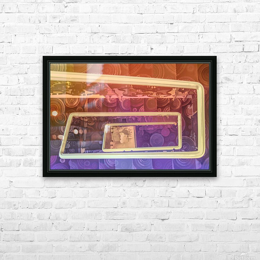 hotel stairway nice studio 6 HD Sublimation Metal print with Decorating Float Frame (BOX)