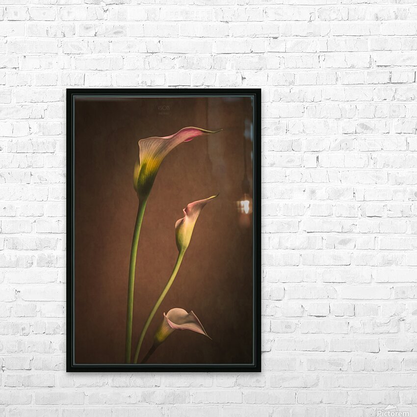 Etude Zen 8 d  HD Sublimation Metal print with Decorating Float Frame (BOX)