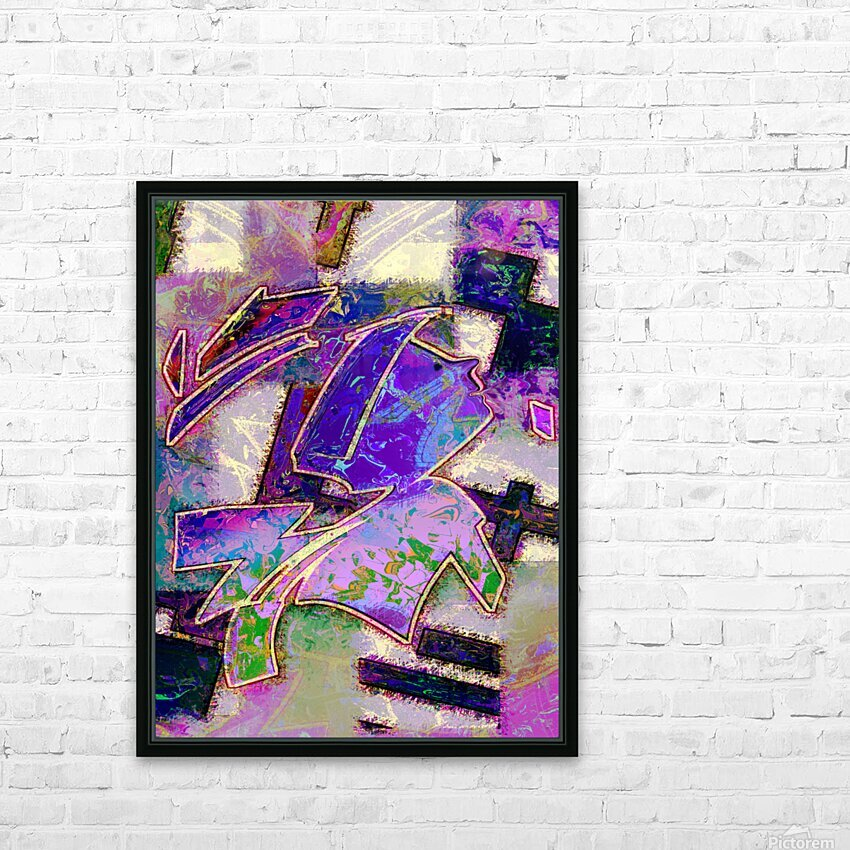 Full of wonder HD Sublimation Metal print with Decorating Float Frame (BOX)