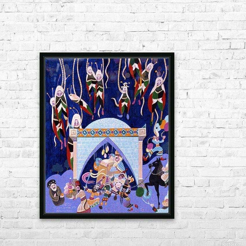 1994 023 HD Sublimation Metal print with Decorating Float Frame (BOX)