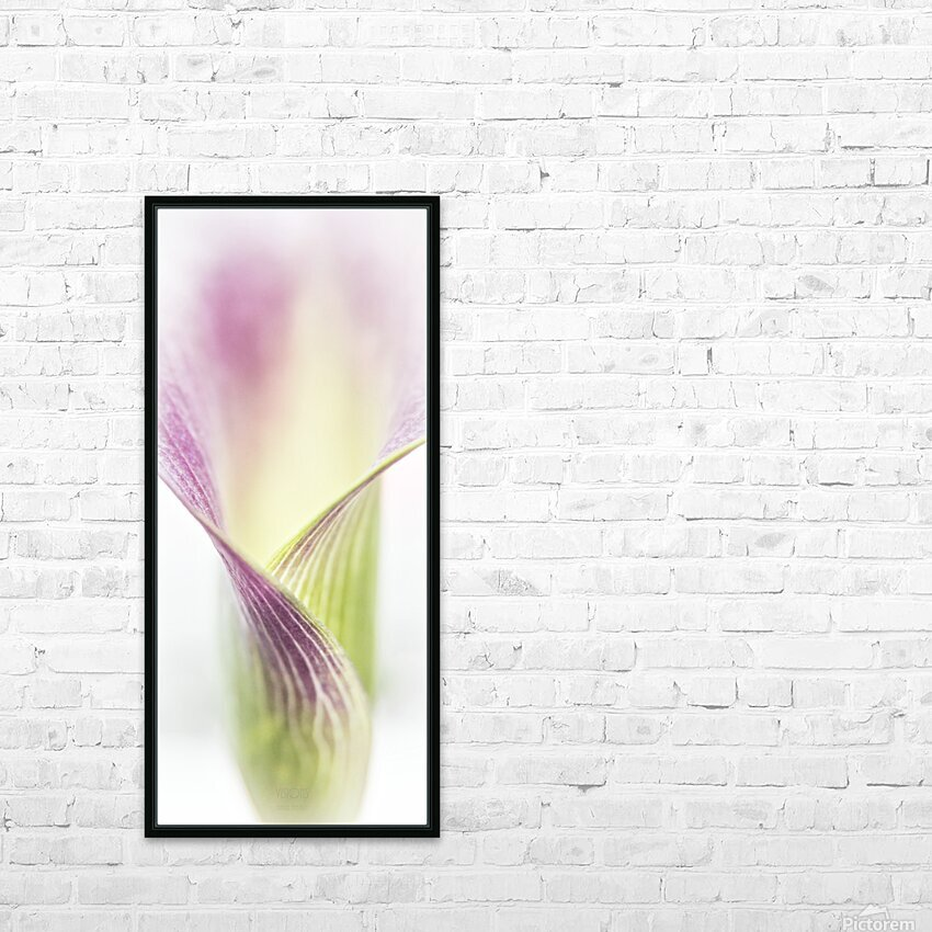 Aurore boreale 3 HD Sublimation Metal print with Decorating Float Frame (BOX)