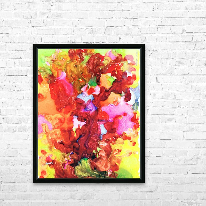 Clarity and Blur Midday HD Sublimation Metal print with Decorating Float Frame (BOX)