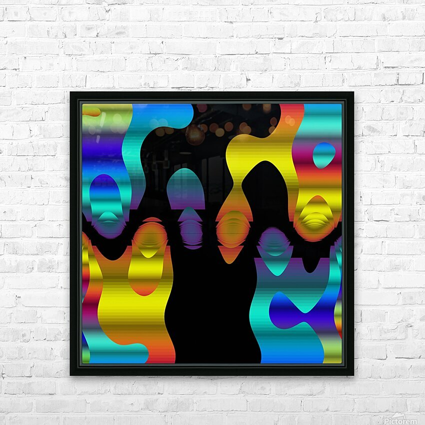 Danse Dancing HD Sublimation Metal print with Decorating Float Frame (BOX)