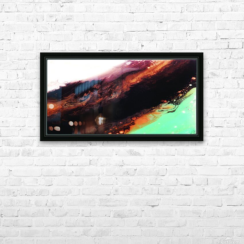 Geode II HD Sublimation Metal print with Decorating Float Frame (BOX)