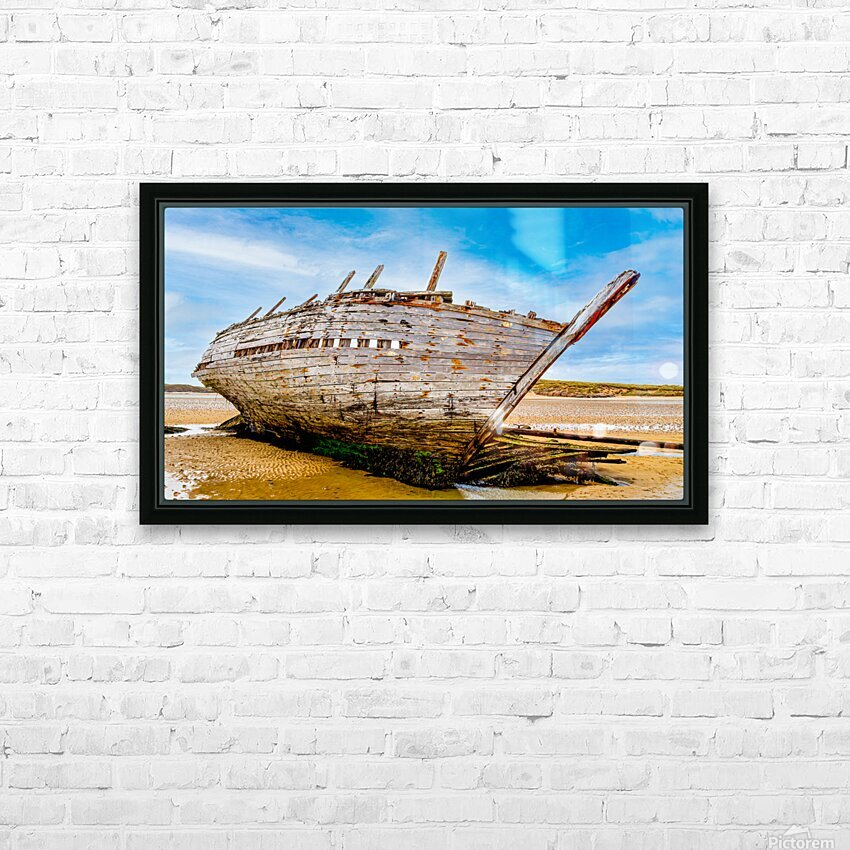 Donegal 3 HD Sublimation Metal print with Decorating Float Frame (BOX)