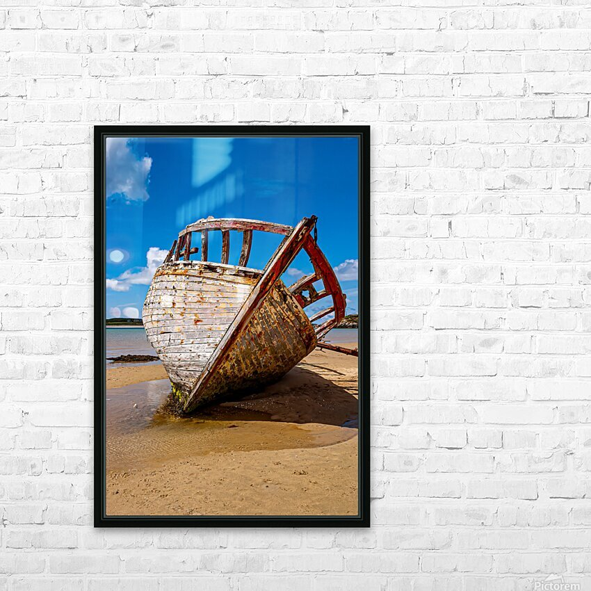 Donegal 2 HD Sublimation Metal print with Decorating Float Frame (BOX)