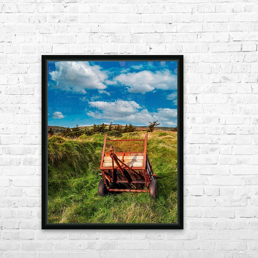 Donegal 4 HD Sublimation Metal print with Decorating Float Frame (BOX)