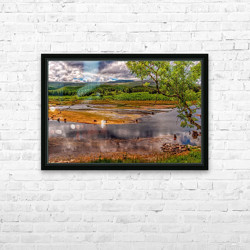 Donegal 22 HD Sublimation Metal print with Decorating Float Frame (BOX)