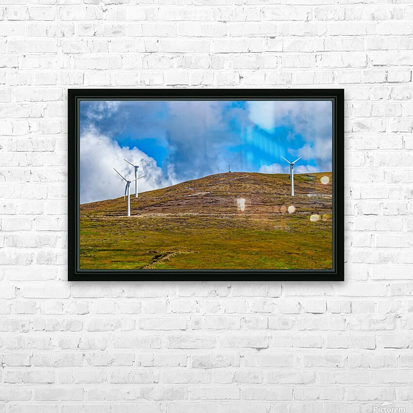 Donegal 31 HD Sublimation Metal print with Decorating Float Frame (BOX)