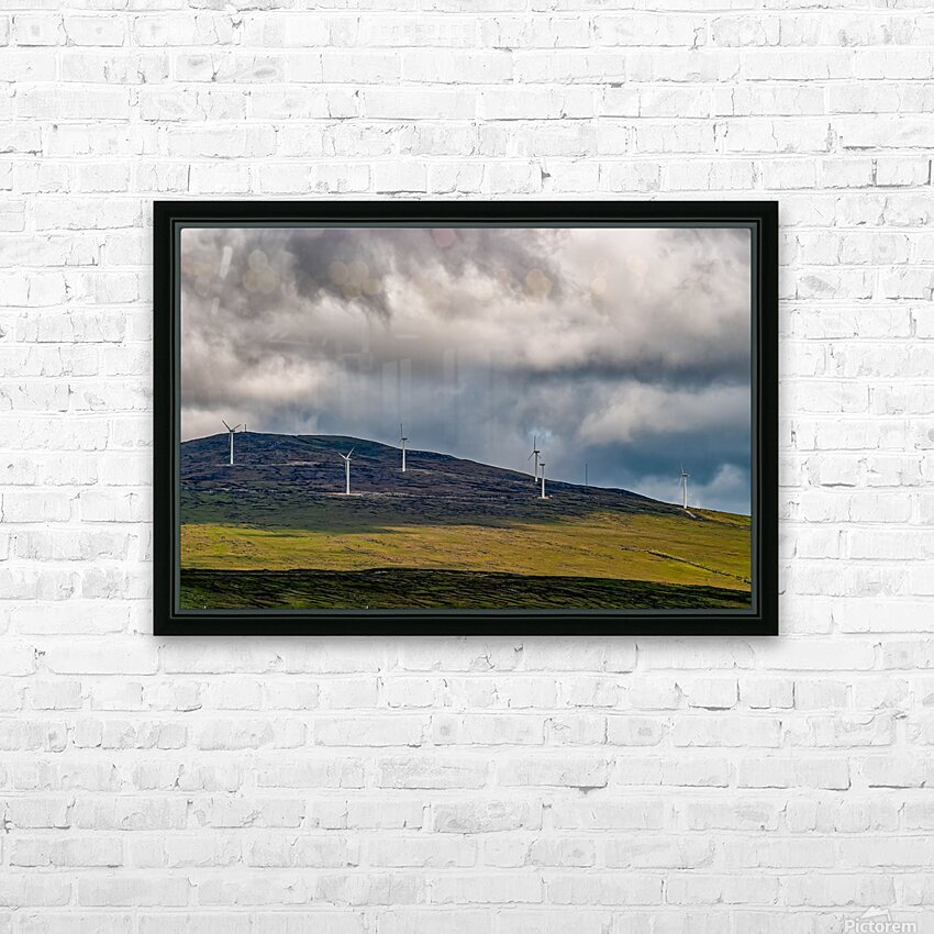 Donegal 30 HD Sublimation Metal print with Decorating Float Frame (BOX)