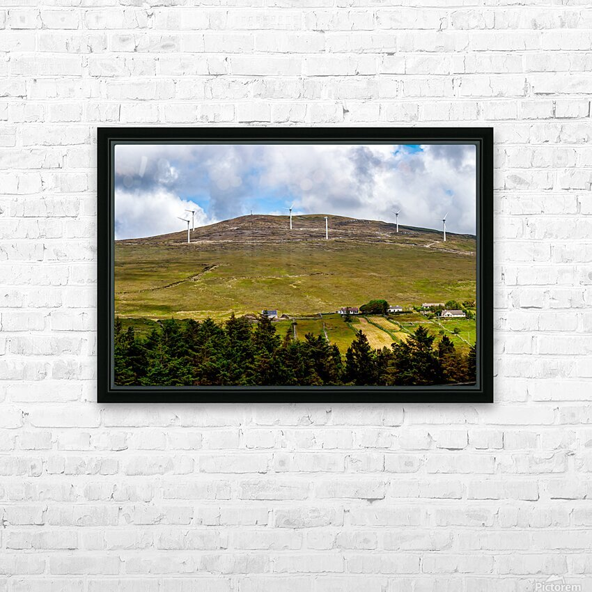 Donegal 32 HD Sublimation Metal print with Decorating Float Frame (BOX)