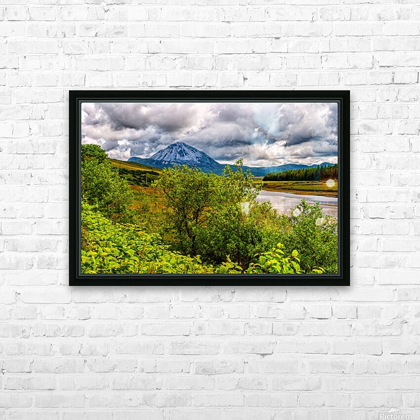Donegal 18 HD Sublimation Metal print with Decorating Float Frame (BOX)