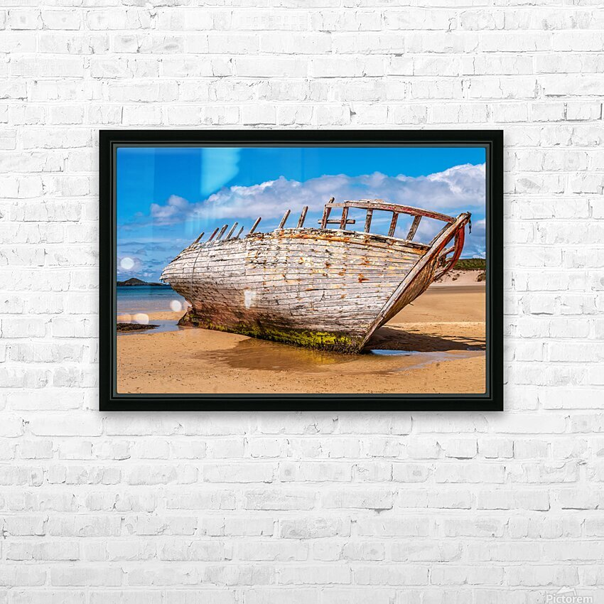 Donegal 1 HD Sublimation Metal print with Decorating Float Frame (BOX)