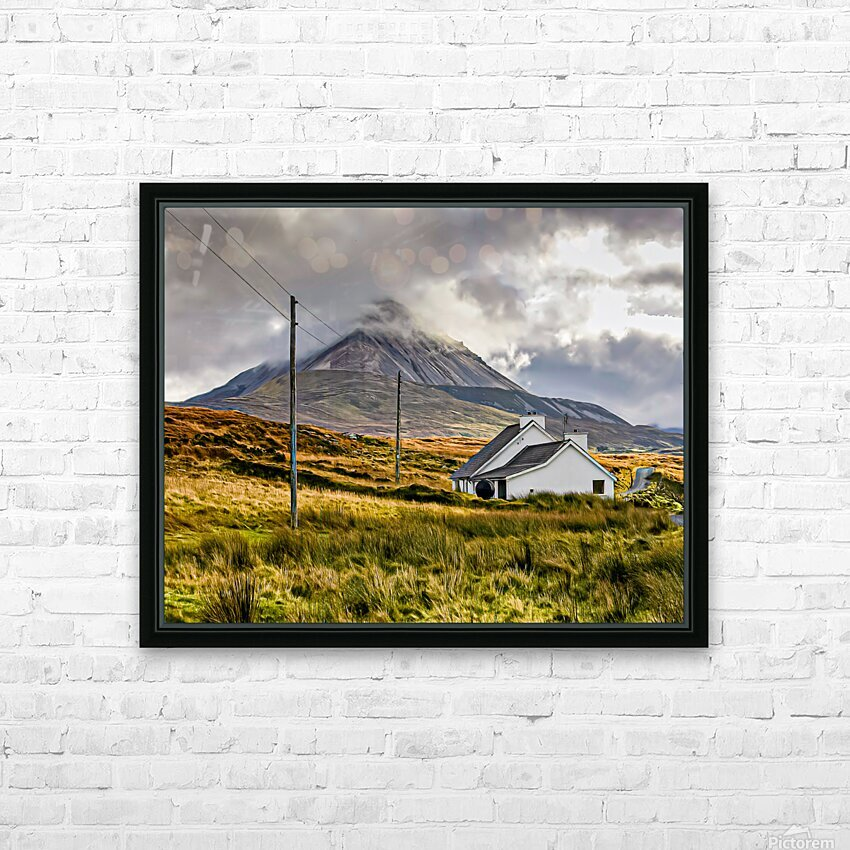Donegal 17 HD Sublimation Metal print with Decorating Float Frame (BOX)
