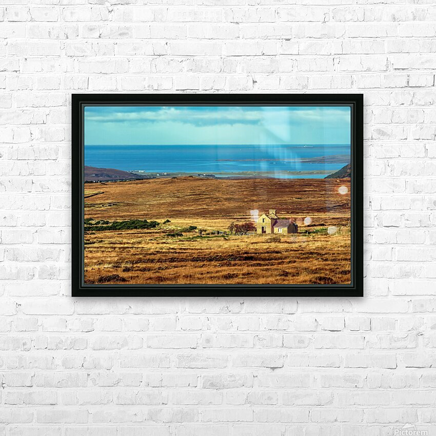 Donegal 12 HD Sublimation Metal print with Decorating Float Frame (BOX)