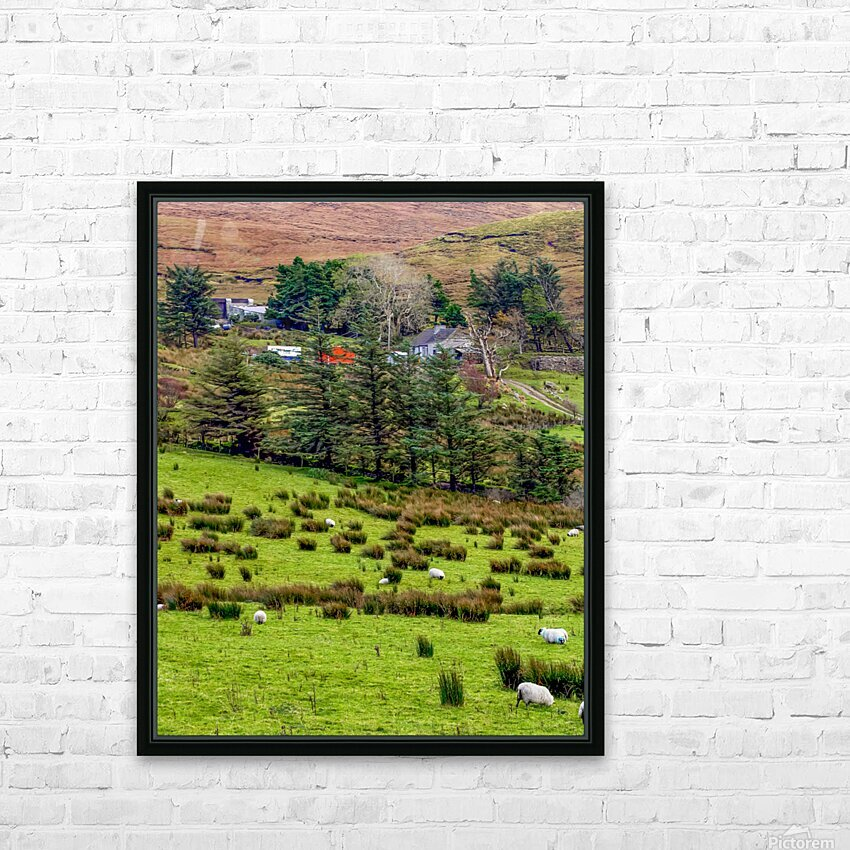 Donegal 7 HD Sublimation Metal print with Decorating Float Frame (BOX)
