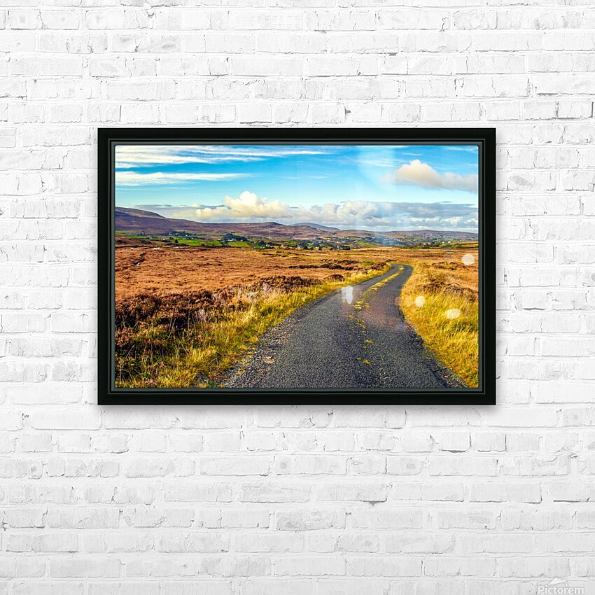 Donegal 11 HD Sublimation Metal print with Decorating Float Frame (BOX)