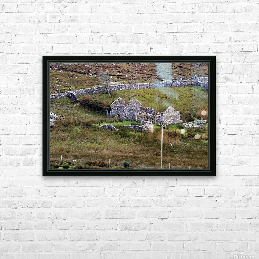 Donegal 9 HD Sublimation Metal print with Decorating Float Frame (BOX)