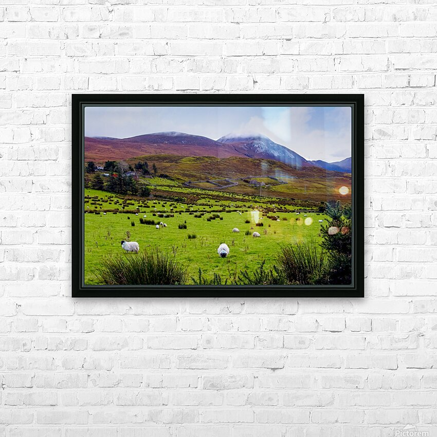Donegal 10 HD Sublimation Metal print with Decorating Float Frame (BOX)