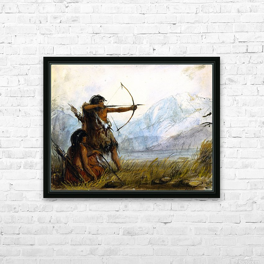 Children of the Snake Tribe HD Sublimation Metal print with Decorating Float Frame (BOX)