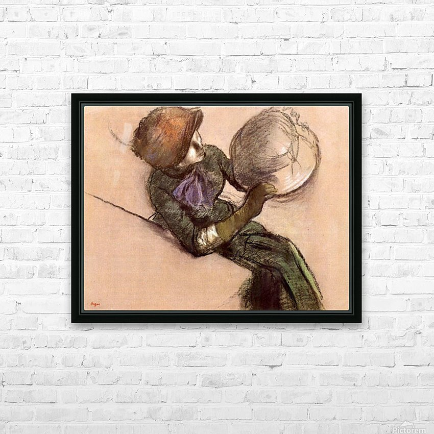 The milliner 2 by Degas HD Sublimation Metal print with Decorating Float Frame (BOX)