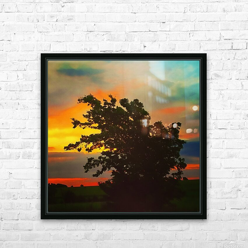 Perfect Balance HD Sublimation Metal print with Decorating Float Frame (BOX)