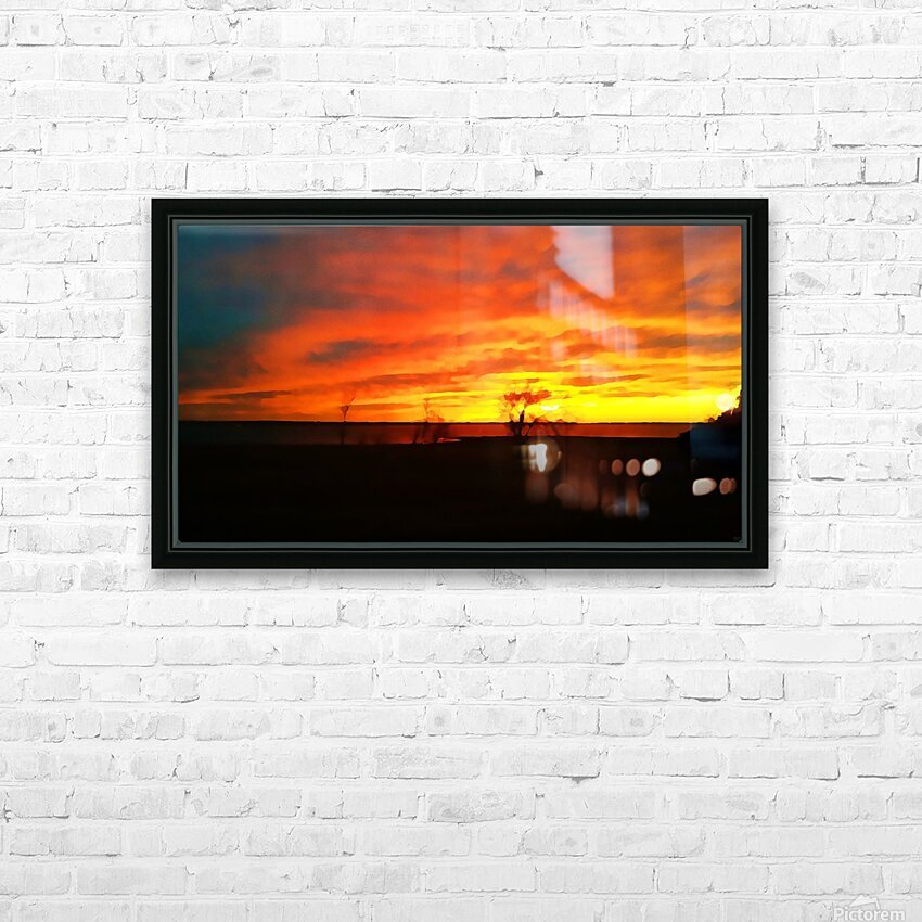 Evening Magic HD Sublimation Metal print with Decorating Float Frame (BOX)