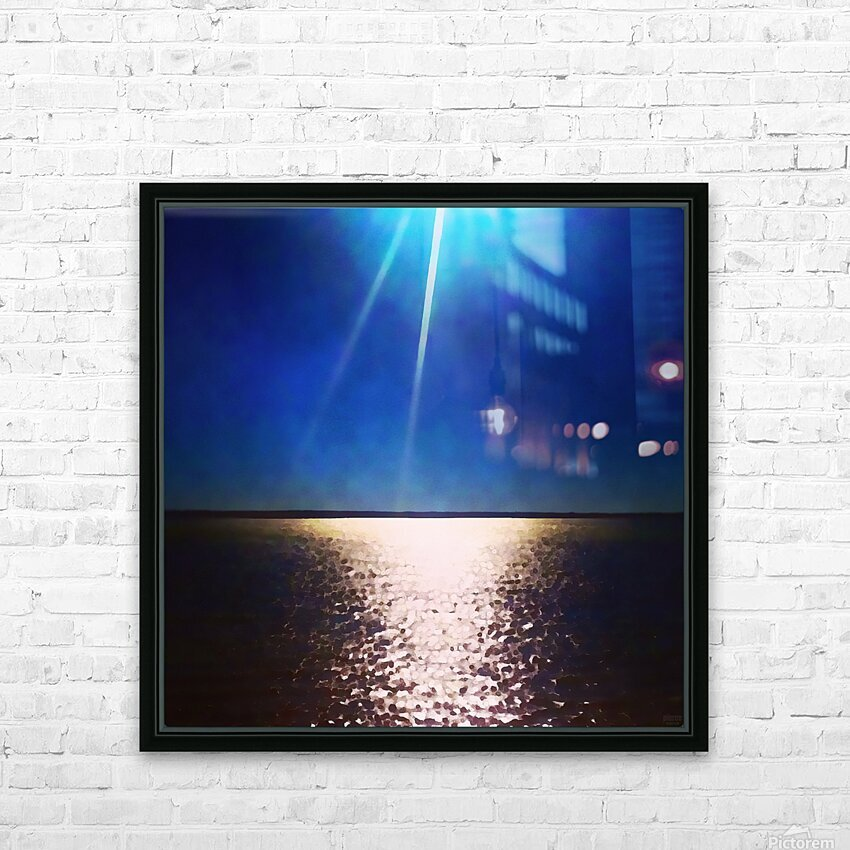 Light Shine HD Sublimation Metal print with Decorating Float Frame (BOX)
