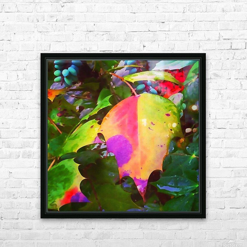 Color Burst HD Sublimation Metal print with Decorating Float Frame (BOX)