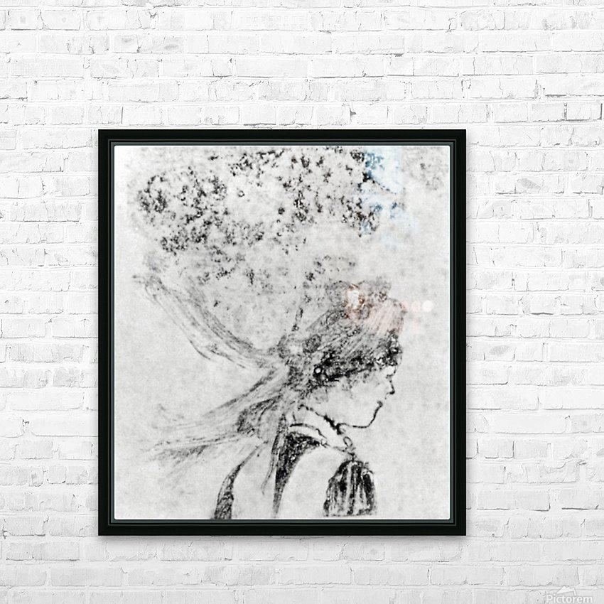 The nurse by Degas HD Sublimation Metal print with Decorating Float Frame (BOX)