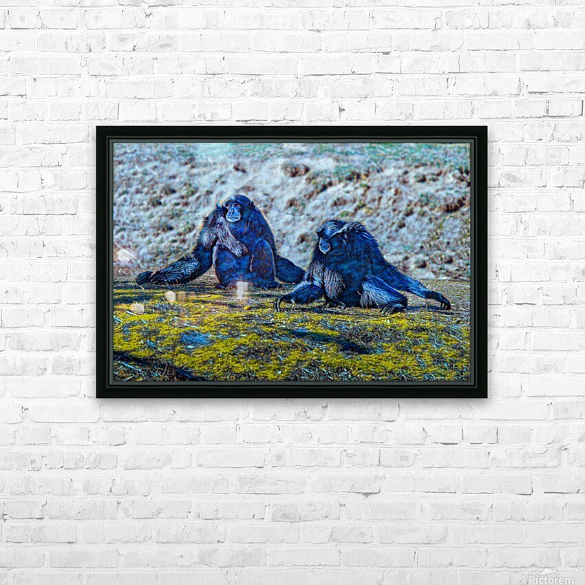 Siamang HD Sublimation Metal print with Decorating Float Frame (BOX)