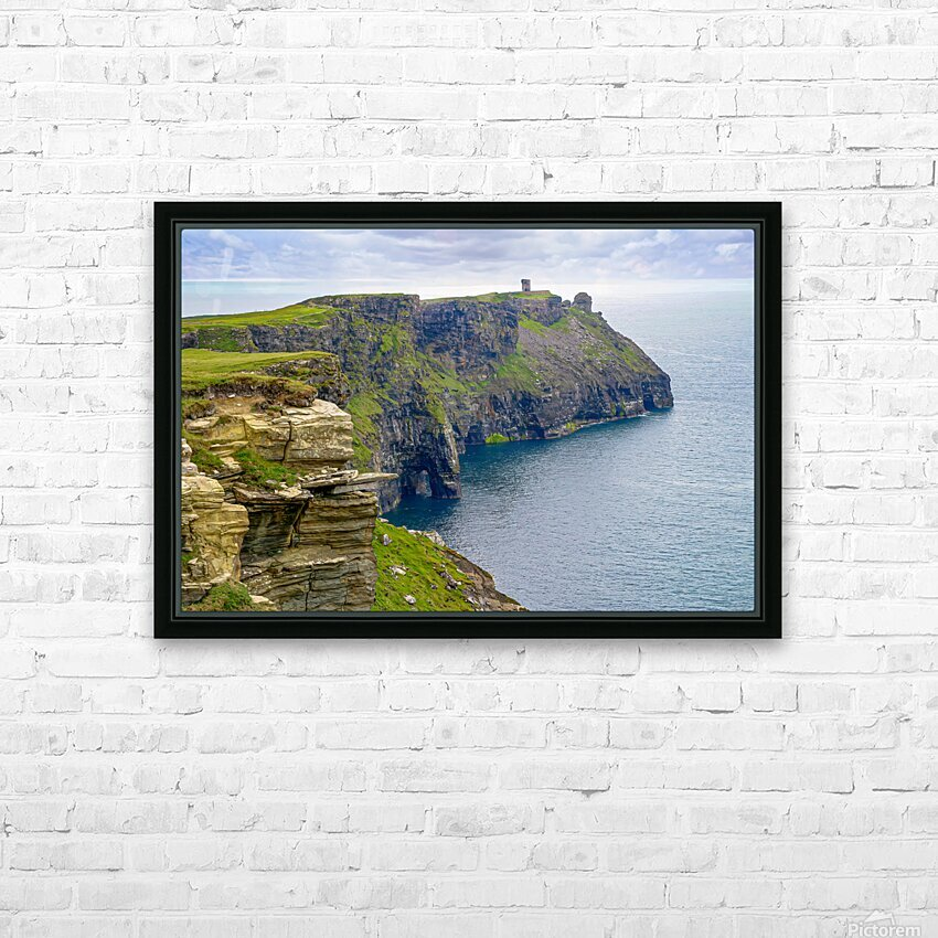 Cliffs Of Moher 4 HD Sublimation Metal print with Decorating Float Frame (BOX)