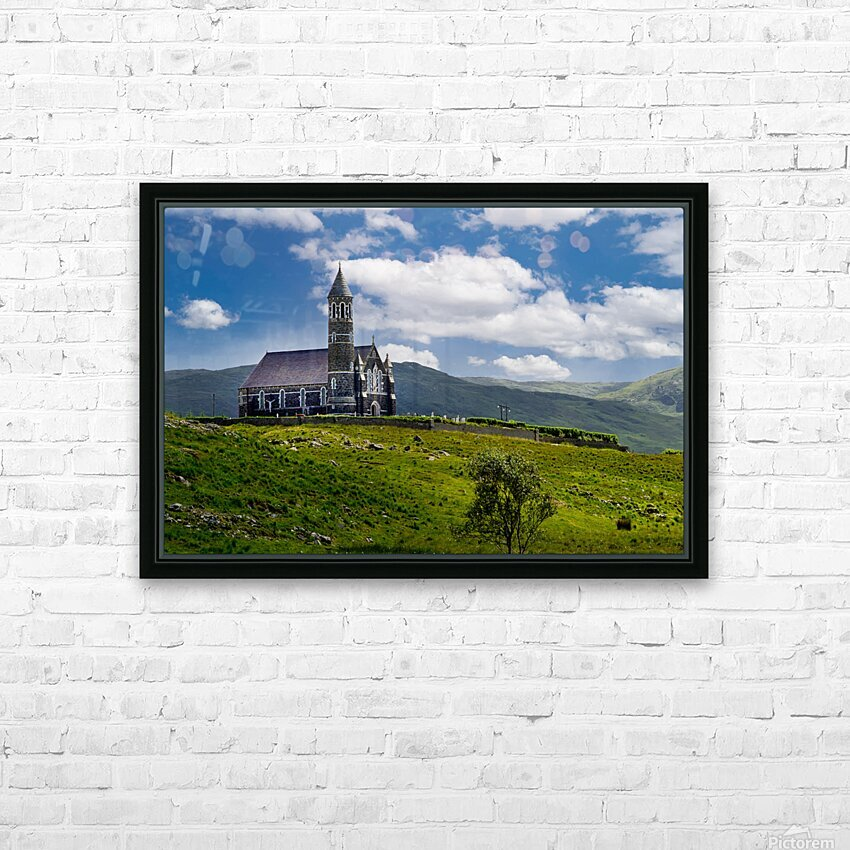 Church of the Sacred Heart HD Sublimation Metal print with Decorating Float Frame (BOX)