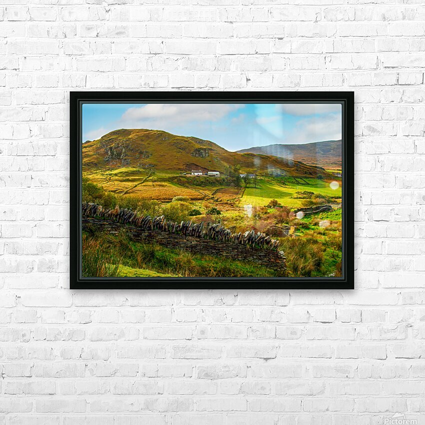 Donegal 2004 228 JPG RAW Edit HD Sublimation Metal print with Decorating Float Frame (BOX)